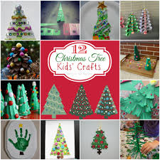 Christmas Kids Crafts Teach Me Tuesdays 12 Christmas Tree Kids Crafts Mine For The Making