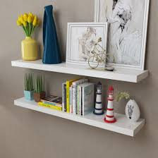 floating wall shelves book dvd storage