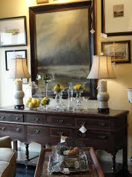 How To Decorate A Dining Room Buffet Table #12723