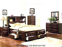 Full Size Bedroom Sets For Adults Black And White 3 Piece Bedroom ...