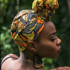 Image result for head wraps on fashion week