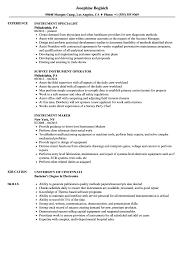 Hearing Instrument Specialist Sample Resume Instrument Resume Samples Velvet Jobs 9