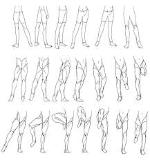 Pants Drawing Reference Drawing Legs Free Download On Ayoqq Org
