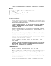 1 26 editorial board orthodontic - Orthodontist Resume
