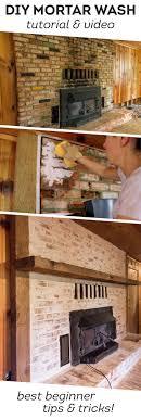Renovate Brick Fireplace Best 25 Fireplace Mortar Ideas On Pinterest Brick Houses