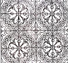 Contoh gambar ragam hias geometris