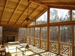 screened in porch with fireplace. Large Screen Porch With Outdoor Fireplace And Tongue Groove Ceiling Columbus OH Screened In H