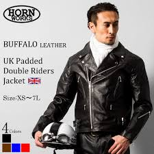 leather jean leather jacket jacket brand new mens leather pad with uk double ray sanders leather