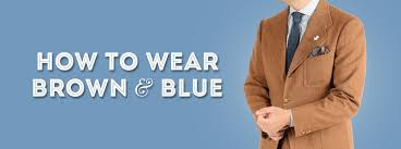 Light Blue And Brown Outfit How To Pair Brown And Blue Gentlemans Gazette