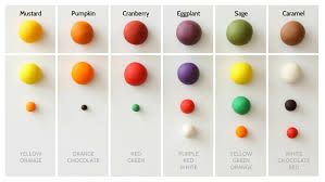 Fondant Color Mixing Guide Autumn Eat Cake Be Merry