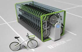 Bike Rental Vending Machines