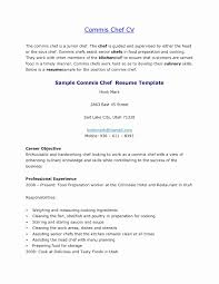 Chefs Resume Resume Template