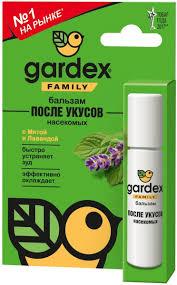 """<b>Бальзам после</b> укусов насекомых <b>Gardex</b> """"Family"""", 7 мл — купить ..."""