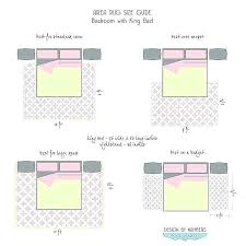 rug under full size bed diagram of area rug placement