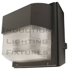 wall light mounting plate plus iwh80 180 watt induction outdoor light fixture prismatic square wall source digsdigs соm