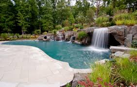 inground pools with waterfalls and slides. Inground Pool Waterfalls The Best Inspiration For Interiors Inexpensive Home Plans Pools With And Slides P
