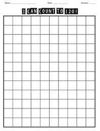 Blank 120 Chart Printable Studious Numbers Chart 1 120 Teacher Created Resources Numbers 1