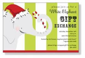 white elephant gift invitation. Fine Elephant Free Printable Holiday White Elephant Invitation Templates  White Elephant  Christmas Invitations By Invitation Duck On Gift E