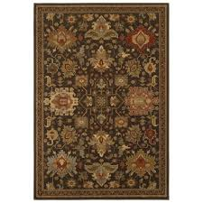 Small Picture Home Decorators Collection Grayson Brown 4 ft x 6 ft Area Rug