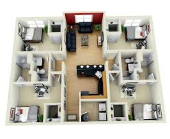 download 4 bedroom house design 3d adhome