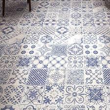 blue floor tiles. Picture Of Skyros Blue Floor Tiles