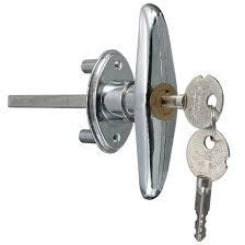 garage door lock t handle with key metal copper in locks from home improvement on aliexpress alibaba group