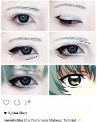 eto yoshimura makeup tutorial for lenses from dont forget maquillaje ojos
