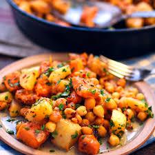 Gardeners Kitchen Sweet Potato Turnip And Chickpea Hash The Circus Gardeners Kitchen