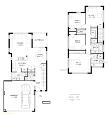 Superior Two Storey 3 Bedroom House Design