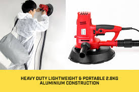 details about electric drywall sander handheld wall sanding machine power tool variable sd