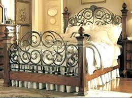 King Size Iron Bed Frame King Iron Bed Frames Wrought Iron King Size ...