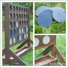 Wooden Yard Games Build a DIY FourinaRow Yard Game ‹ Build Basic 21