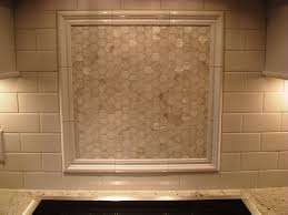 Ceramic Kitchen Backsplash Over The Stove Backsplash The Mother Of Pearl Backsplash Above