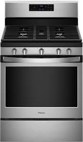 whirlpool 5 0 cu ft self cleaning freestanding gas range stainless steel wfg525s0hs best