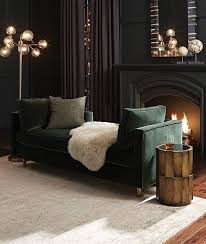 dark living room furniture. Beautiful Living Soft Black Living Room With A Dark Green Sofa Art Deco Lights And Working On Dark Living Room Furniture