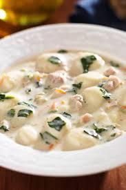 olive garden en and gnocchi soup copycat