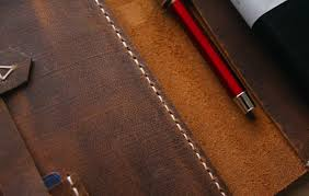 handmade a4 leather portfolio custom