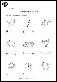 Long vowel sounds worksheet 2. Short Vowels Middle Sounds Worksheets And Activities