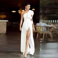 <b>Verngo</b> простое <b>вечернее платье</b> теплое белое <b>вечернее платье</b> ...