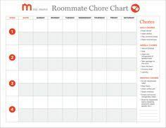 Creating A Roommate Chore Chart In 5 Easy Steps My Move In