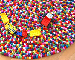 lego rug multi color carpet child