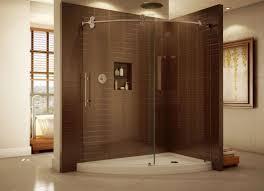 Shower  Beautiful Fiberglass Tub Shower Combo Beautiful Example One Piece Fiberglass Tub Shower Combo