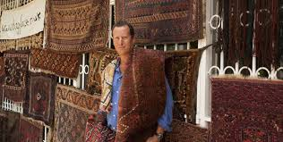 piers benator founder and owner of bagface with oriental rugs photo courtesy