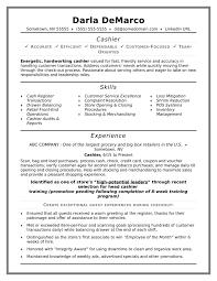 Resumes Mcdonalds Cashier Resume Sample Choosing The Right Essay