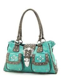 Simple Studded Or Suede Western Style PursesCountry Style Purses