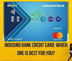 indusind bank credit card