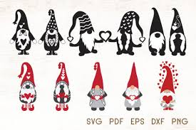 Weekly free svg cut file diy craft inspirations & videos click this link for more. Valentines Gnomes Vector Graphic By Dasagani Creative Fabrica