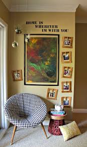 how to hang pictures without a frame