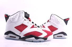 Jordan Retro Chart Large Orders Jordan Retro 6 Mens Basketball Shoes White Red
