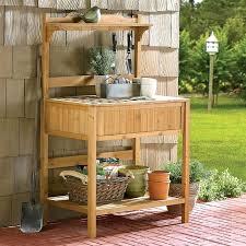 outdoor potting table potting bench bar garden work bench potting shed table potting bench outside potting
